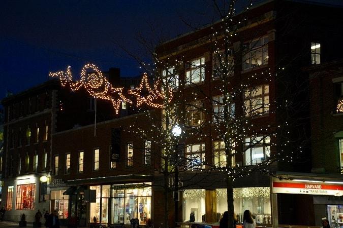 White Lights 2019 Harvard Square