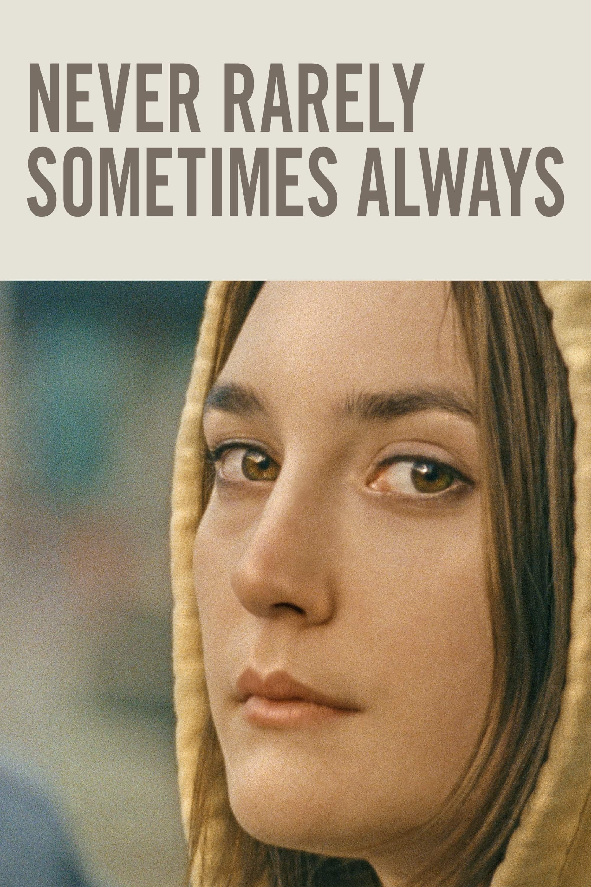 Poster for Never Rarely Sometimes Always